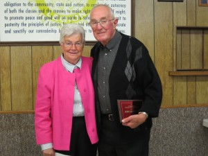 2015 Conservation Farmer of the year, John & Betty Huth